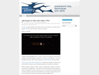 pptcrafter.wordpress.com screenshot