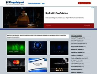 ppttemplate.net screenshot