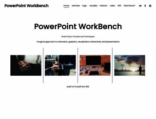 pptworkbench.com screenshot