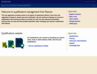 pqg.pearson.com screenshot