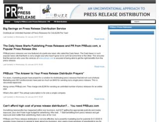 pr-press-release.com screenshot