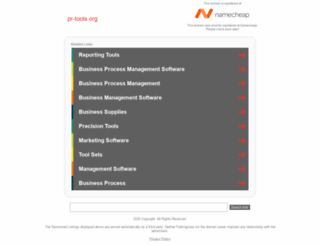 pr-tools.org screenshot