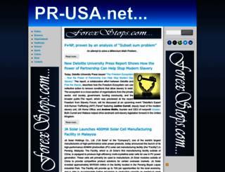 pr-usa.net screenshot