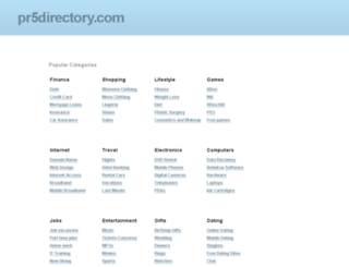pr5directory.com screenshot