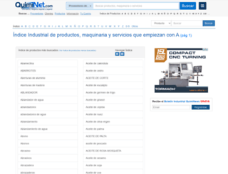 pr70.quiminet.com screenshot