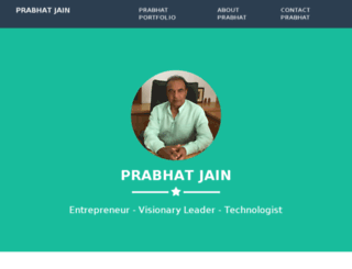 prabhatjain.org screenshot
