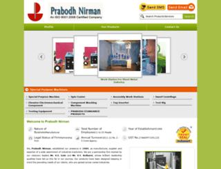 prabodhnirmanpune.com screenshot