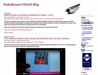 prabukumar.wordpress.com screenshot