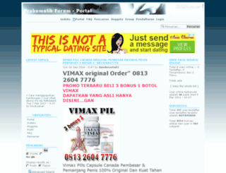 prabumulih.team-forum.net screenshot