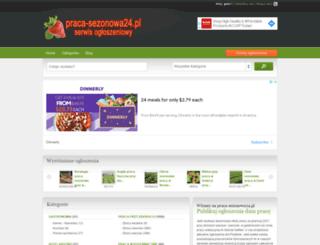 praca-sezonowa24.pl screenshot