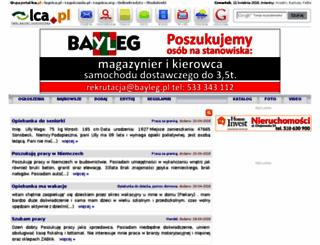 praca.lca.pl screenshot