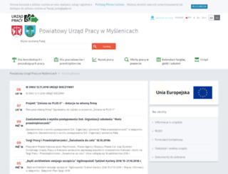 praca.myslenice.pl screenshot