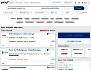 praca.pl screenshot