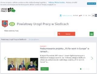 praca.siedlce.pl screenshot