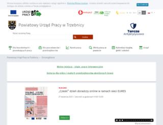 praca.trzebnica.pl screenshot