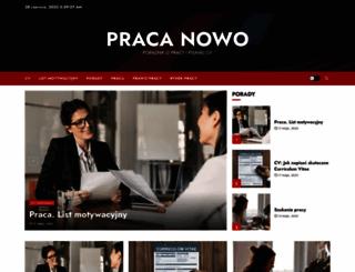pracanowo.pl screenshot