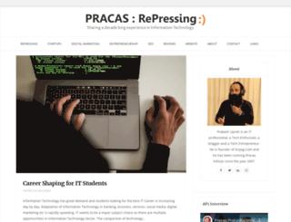 pracas.com.np screenshot