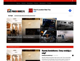 pracawbiurze.pl screenshot