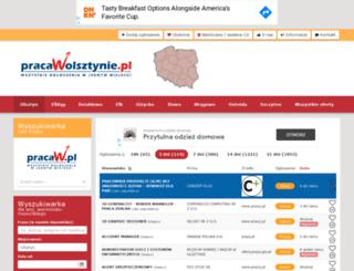 pracawolsztynie.com.pl screenshot
