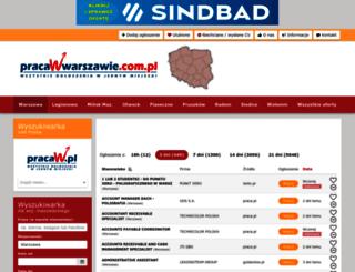 pracawwarszawie.com.pl screenshot