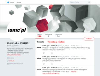 prace.ionic.pl screenshot