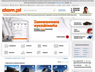 pracownia-projekty.dom.pl screenshot