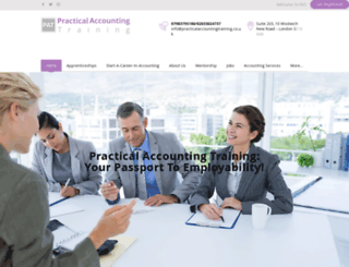 practicalaccountingtraining.co.uk screenshot
