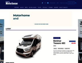 practicalmotorhome.com screenshot