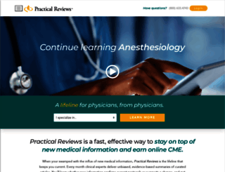 practicalreviews.com screenshot