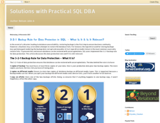 practicalsqldba.com screenshot