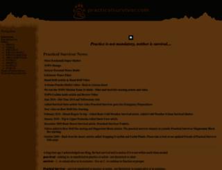 practicalsurvivor.com screenshot