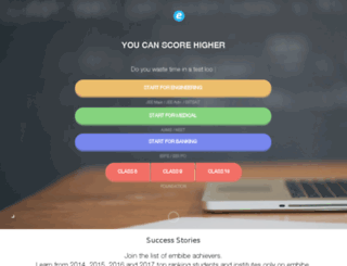 practice.embibe.com screenshot