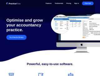 practiceflow.co.uk screenshot