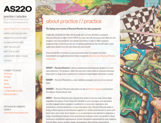 practicepractice.as220.org screenshot
