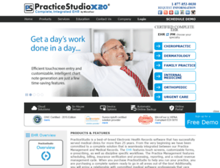 practicestudio.net screenshot