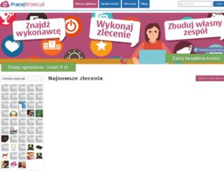 pracujwsieci.pl screenshot