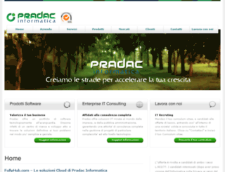 pradac.it screenshot