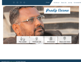pradipvarma.com screenshot
