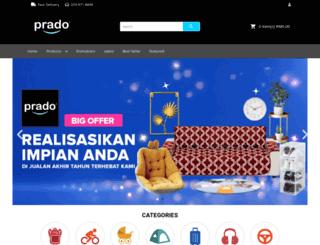 prado.com.my screenshot