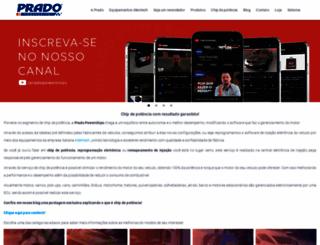 pradopowerchips.com.br screenshot