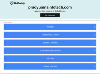 pradyumnainfotech.com screenshot