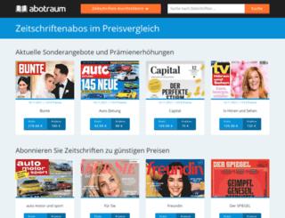 praemienabo.com screenshot