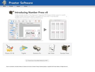 praetersoftware.com screenshot