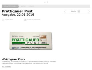 praettigauerpost.ch screenshot