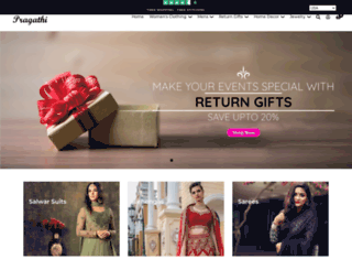 pragathi.com screenshot