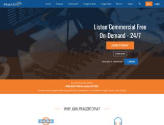 pragertopia.com screenshot