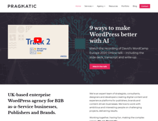 pragmatic-web.co.uk screenshot