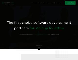pragmaticcoders.com screenshot