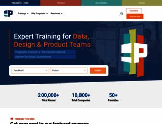pragmaticmarketing.com screenshot
