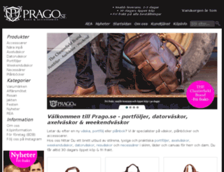 prago.se screenshot